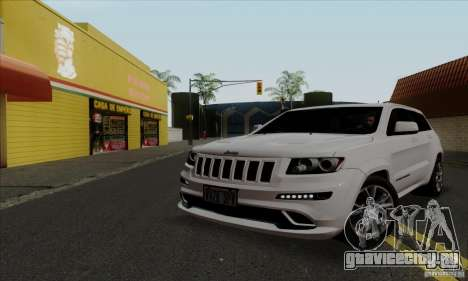 Jeep Grand Cherokee SRT-8 2013 для GTA San Andreas