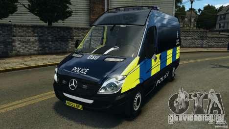 Mercedes-Benz Sprinter Police [ELS] для GTA 4