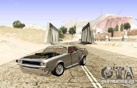 Dodge Charger 1969 SpeedHunters для GTA San Andreas вид сзади слева