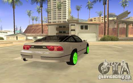 Nissan 200SX Monster Energy для GTA San Andreas вид справа