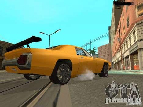 Stallion HD для GTA San Andreas вид сзади слева