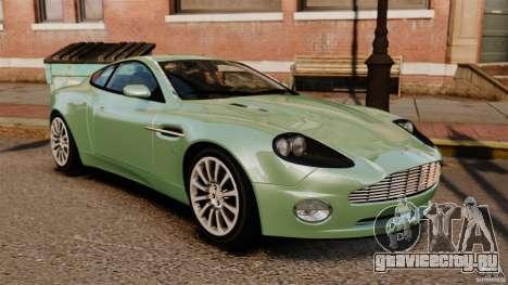 Aston Martin Vanquish 2001 для GTA 4