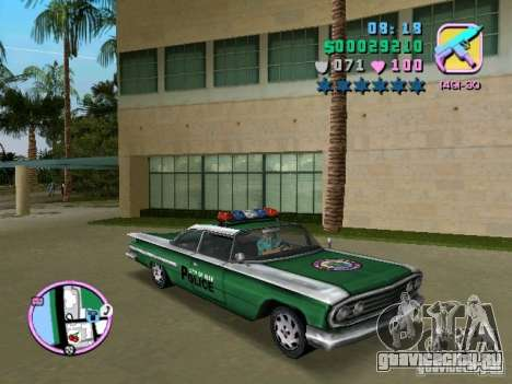 Voodoo Police для GTA Vice City вид слева