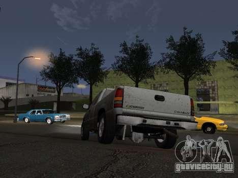 Chevorlet Silverado 2000 для GTA San Andreas вид сбоку