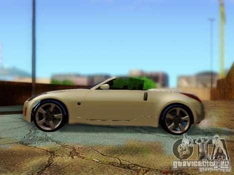 Nissan 350Z Cabrio для GTA San Andreas вид справа