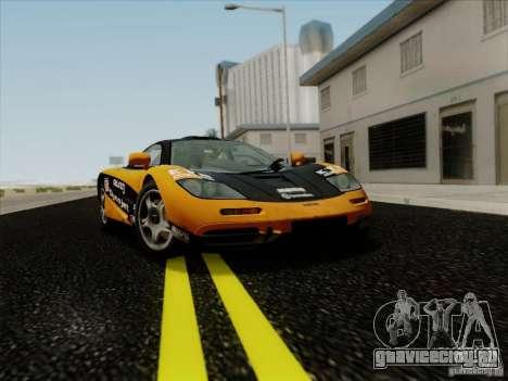 McLaren F1 1994 v1.0.0 для GTA San Andreas вид сбоку