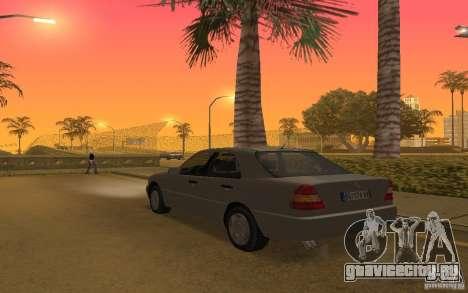Mercedes Benz C220 для GTA San Andreas вид справа