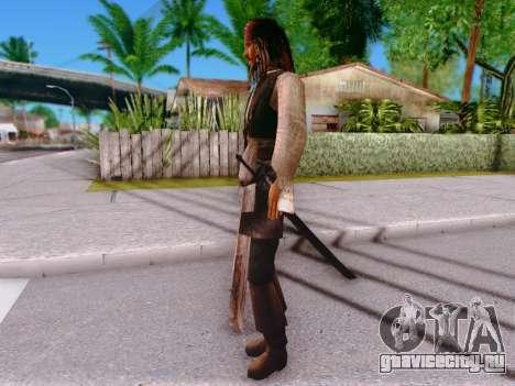 Джек Воробей для GTA San Andreas четвёртый скриншот
