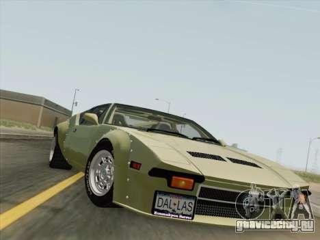 De Tomaso Pantera GT4 для GTA San Andreas