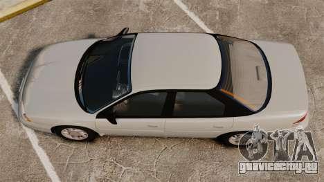 Dodge Intrepid 1993 Civil для GTA 4 вид справа