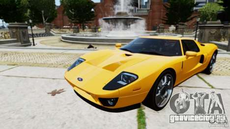 Ford GT 2005 v1.0 для GTA 4 вид сзади слева
