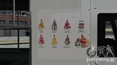 Новый фургон мороженщика для GTA 4 пятый скриншот