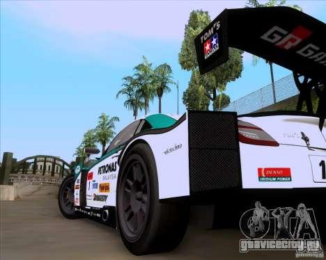 Lexus Sc430 для GTA San Andreas вид сзади слева