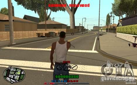 Cleo HUD by Cameron Rosewood V1.0 для GTA San Andreas четвёртый скриншот