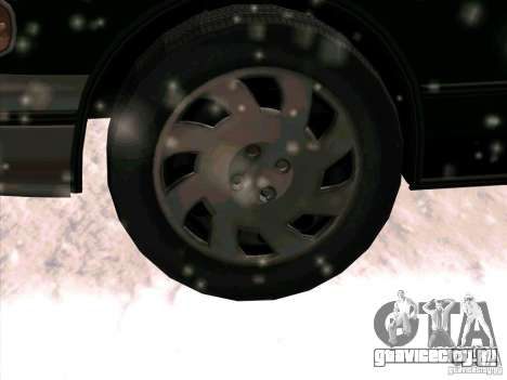 HD Taxi SA из GTA 3 для GTA San Andreas вид сбоку