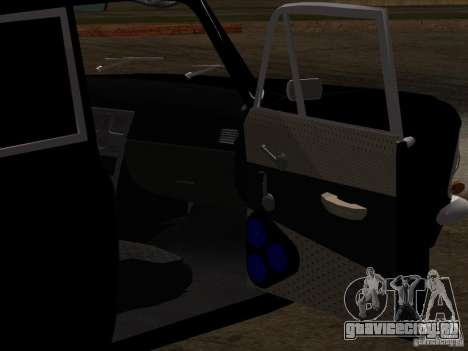 Москвич 408 Extra Style для GTA San Andreas вид снизу