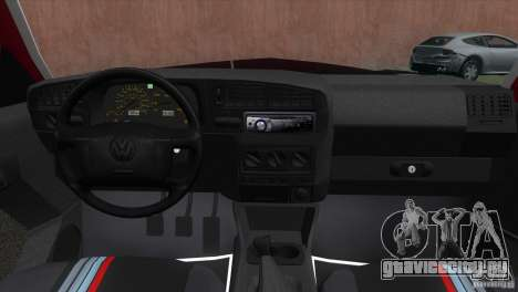 Volkswagen Golf GTI 1994 для GTA Vice City вид сзади слева