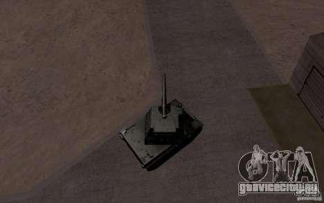 Bat. Chat. 155 SPG для GTA San Andreas вид сбоку