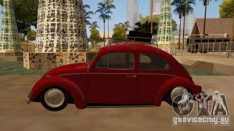 VW Beetle 1966 для GTA San Andreas вид слева
