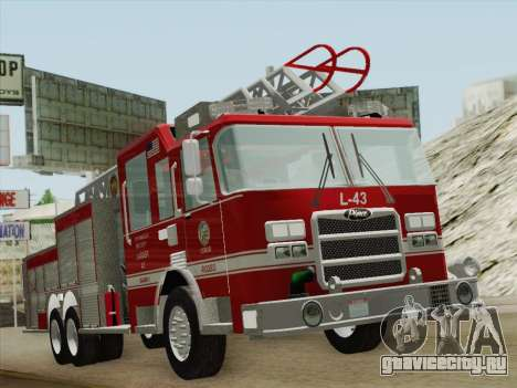Pierce Arrow LAFD Ladder 43 для GTA San Andreas вид слева