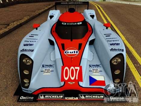 Aston Martin DBR1 Lola 007 для GTA San Andreas вид слева