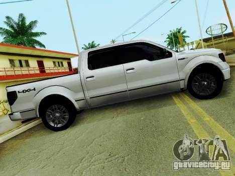Ford F150 Platinum Edition 2013 для GTA San Andreas вид слева