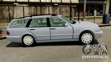 Mercedes-Benz W210 Wagon для GTA 4 вид слева