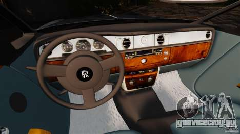 Rolls-Royce Phantom Convertible 2012 для GTA 4 вид справа