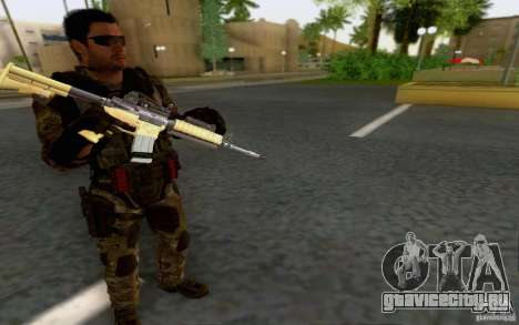 Дэвид Мэйсон для GTA San Andreas четвёртый скриншот