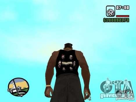 Майка Rammstein для GTA San Andreas второй скриншот