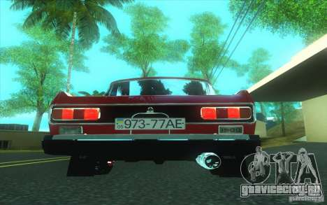Москвич 2140 для GTA San Andreas вид сзади слева