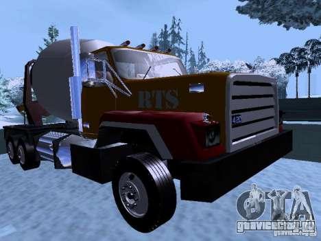 RTS 420 Шаталка для GTA San Andreas вид слева