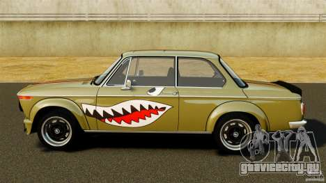 BMW 2002 Turbo 1973 для GTA 4 вид слева