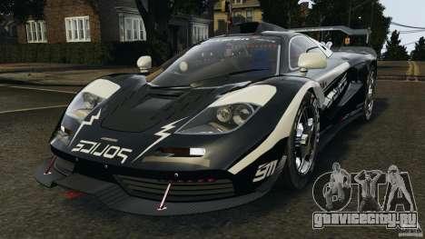 McLaren F1 ELITE Police для GTA 4