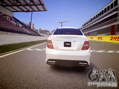 Mercedes-Benz C63 AMG Stock Wheel v1.1 для GTA 4 вид справа