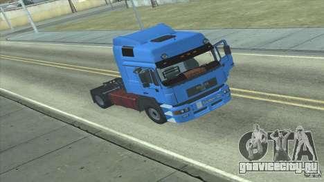 Man F2000 для GTA San Andreas вид слева