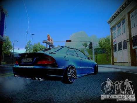 Mercedes-Benz CLK 55 AMG Coupe для GTA San Andreas вид справа