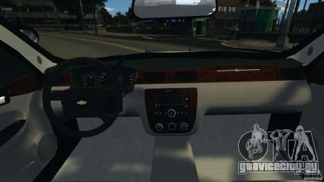 Chevrolet Impala Unmarked Detective [ELS] для GTA 4 вид сзади