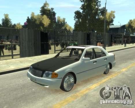 Mercedes-Benz C220 W202 для GTA 4
