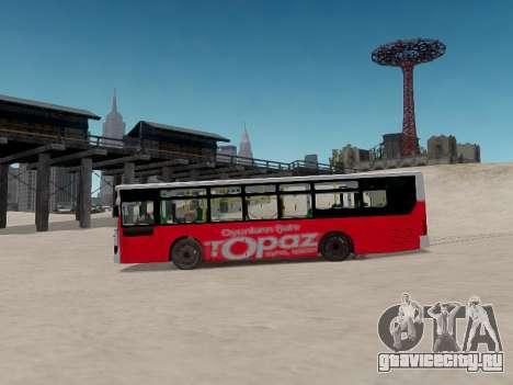 Daewoo BC211MA Baku для GTA 4 вид изнутри