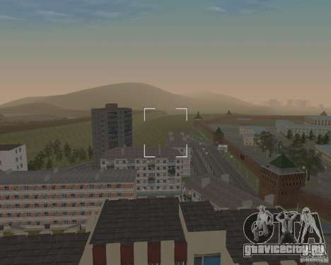 Нижегородск v0.5 BETA для GTA San Andreas второй скриншот
