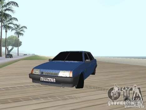 ВАЗ 21099 v2 для GTA San Andreas вид справа