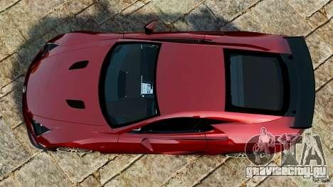 Lexus LFA 2012 Nurburgring Edition для GTA 4 вид справа