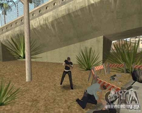 Место преступления (Crime scene) для GTA San Andreas шестой скриншот