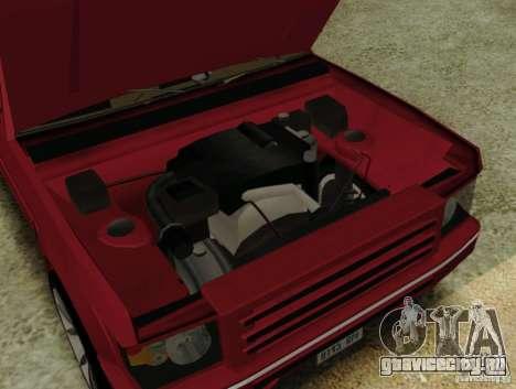 Huntley Freelander для GTA San Andreas вид справа