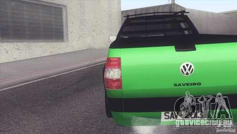 Volkswagen Saveiro 2013 для GTA San Andreas вид слева