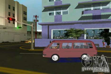 РАФ 2203 для GTA Vice City вид слева