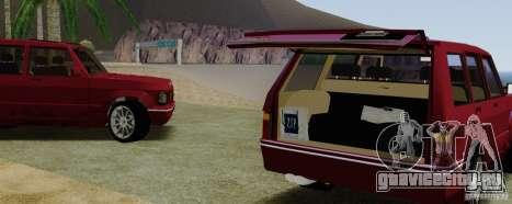 Huntley Freelander для GTA San Andreas вид сзади