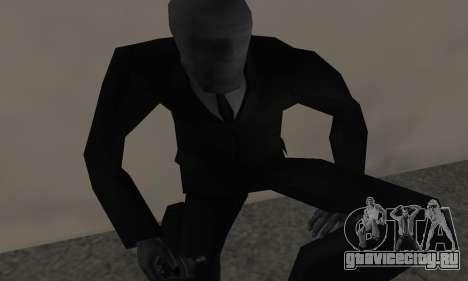 Slender Man для GTA San Andreas третий скриншот