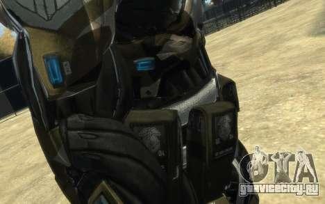 Crysis 3 The Hunter skin для GTA 4 восьмой скриншот